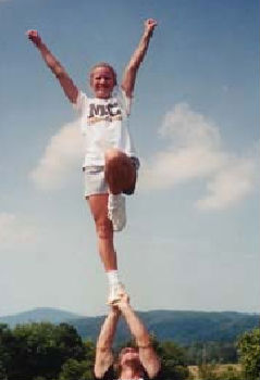 Liberty Cheer Stunt